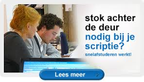 Snelafstuderen.nl Scriptiebegeleiding